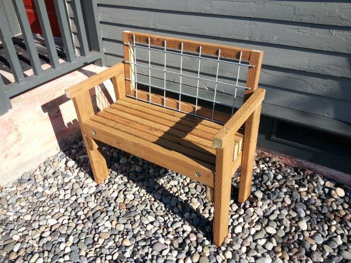 horiz arm bench