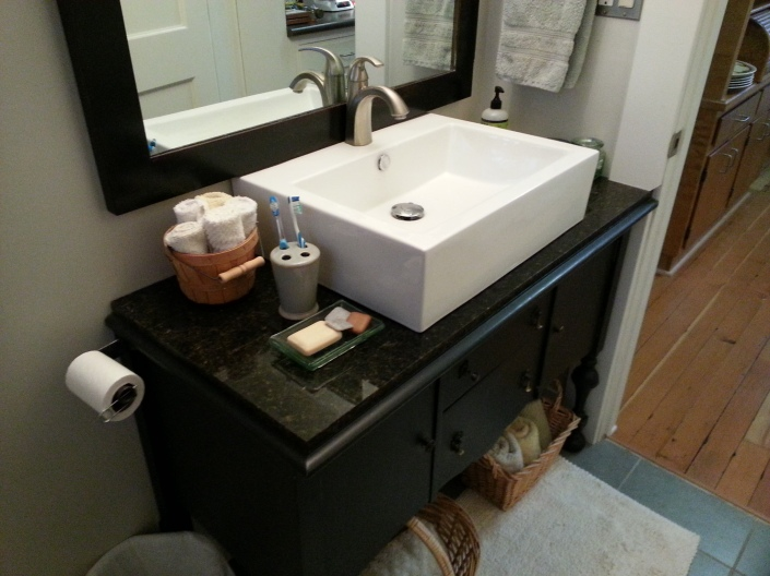 sink & sideboard