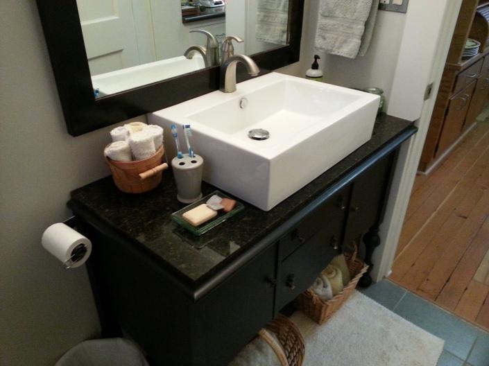 sink & sideboard